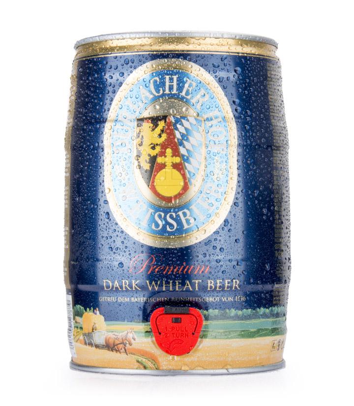 德国德拉克黑啤酒5L 瓶