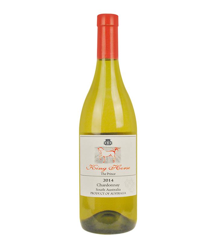 13.5°澳洲皇马2014王子莎当妮白葡萄酒750ml  瓶