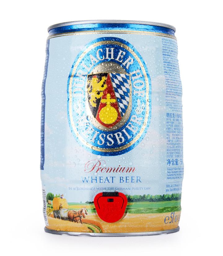 德国德拉克小麦啤酒5L 件
