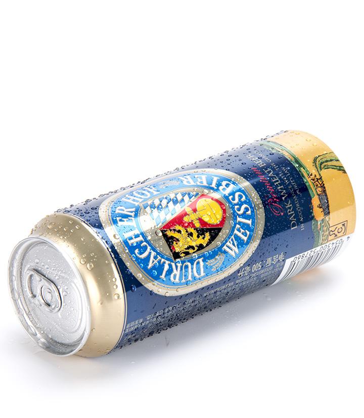 德国德拉克黑啤酒500ml 瓶