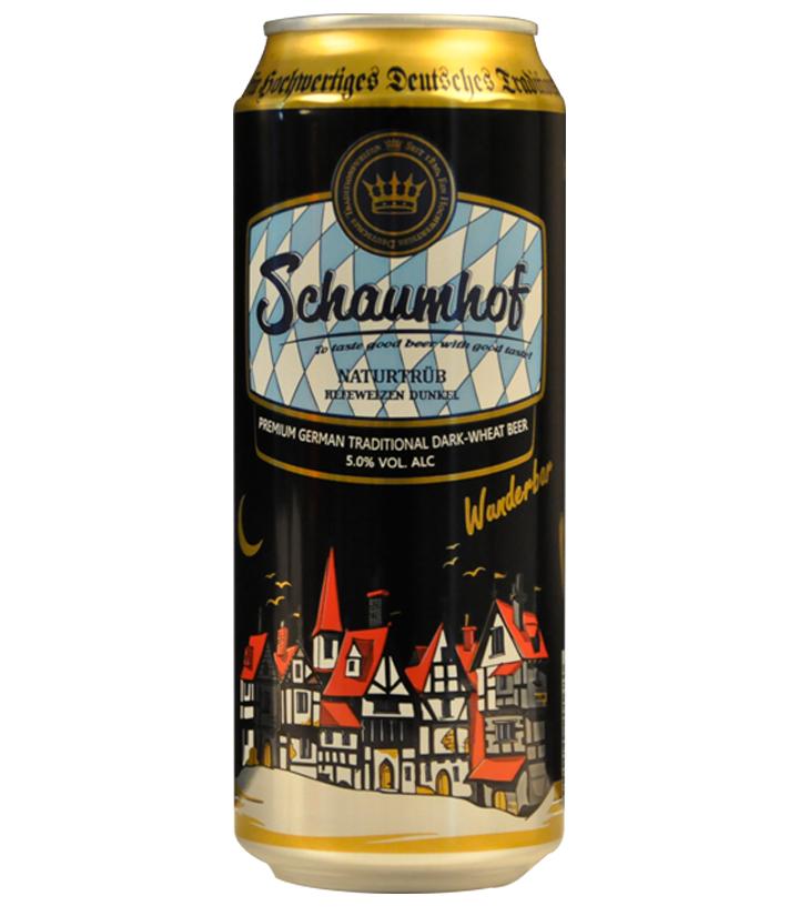 德国雪夫小麦黑啤500ml