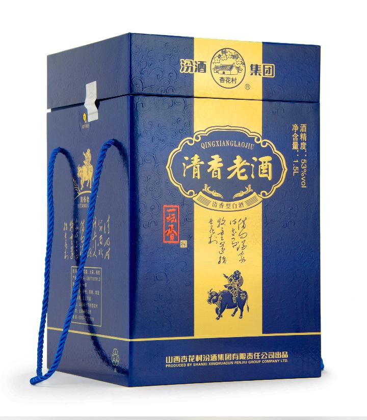 53°汾酒清香老酒1.5L 瓶