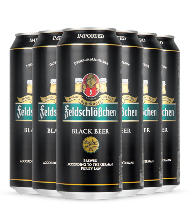 德国费尔德堡黑啤酒500ml