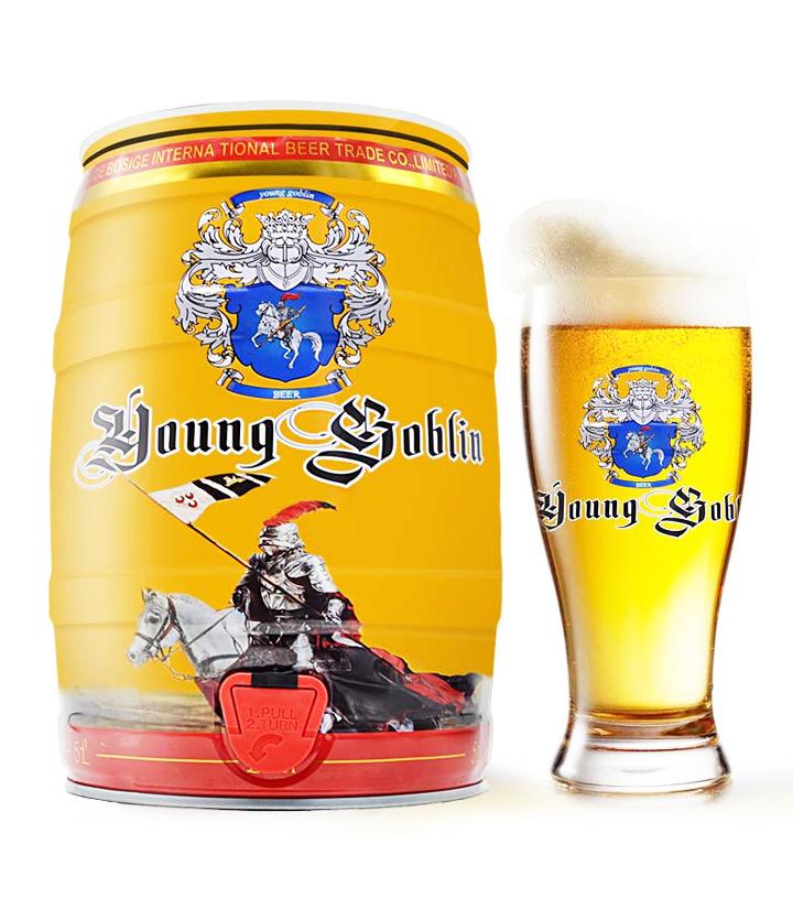 德国德柏斯格白啤酒5L 瓶