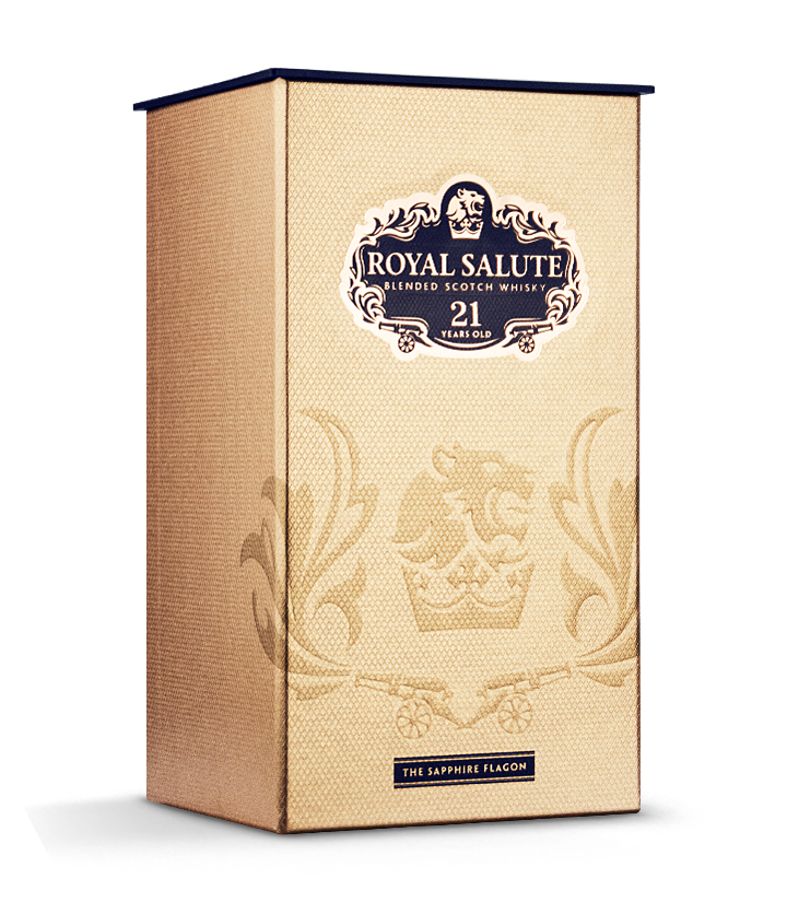 英国皇家礼炮21年苏格兰威士忌700ml 瓶