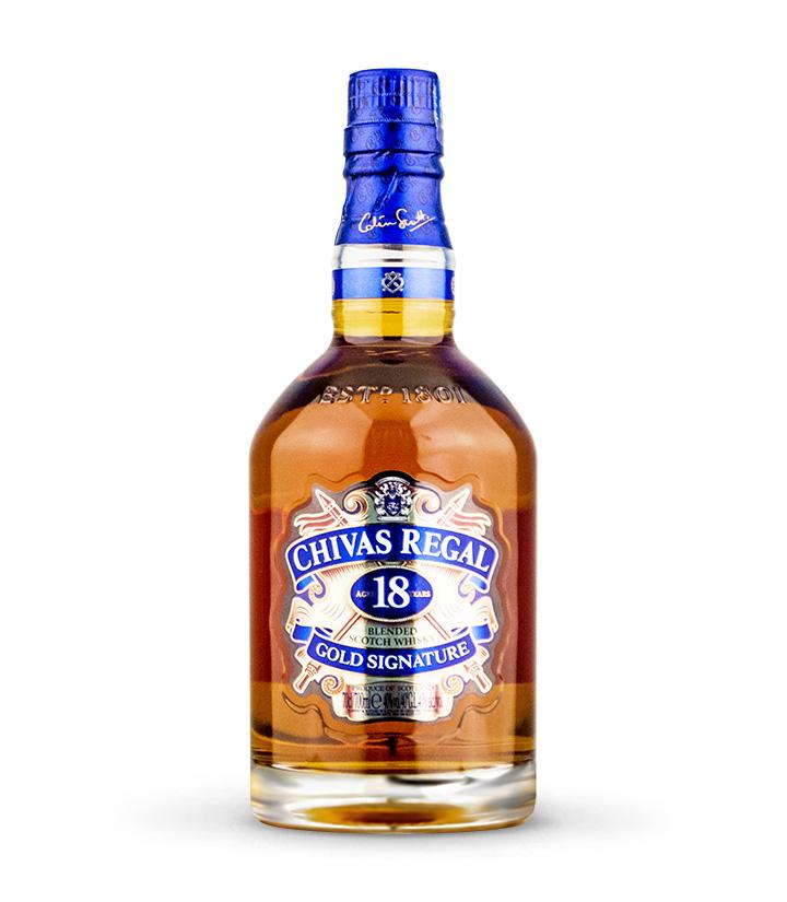 英国芝华士18年苏格兰威士忌700ml 瓶