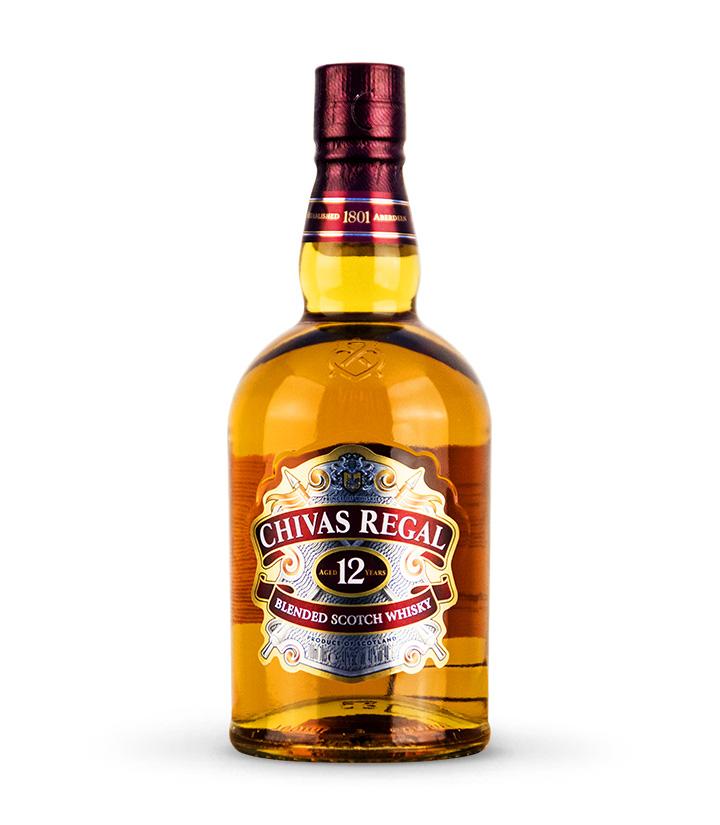 英国芝华士12年苏格兰威士忌700ml 瓶