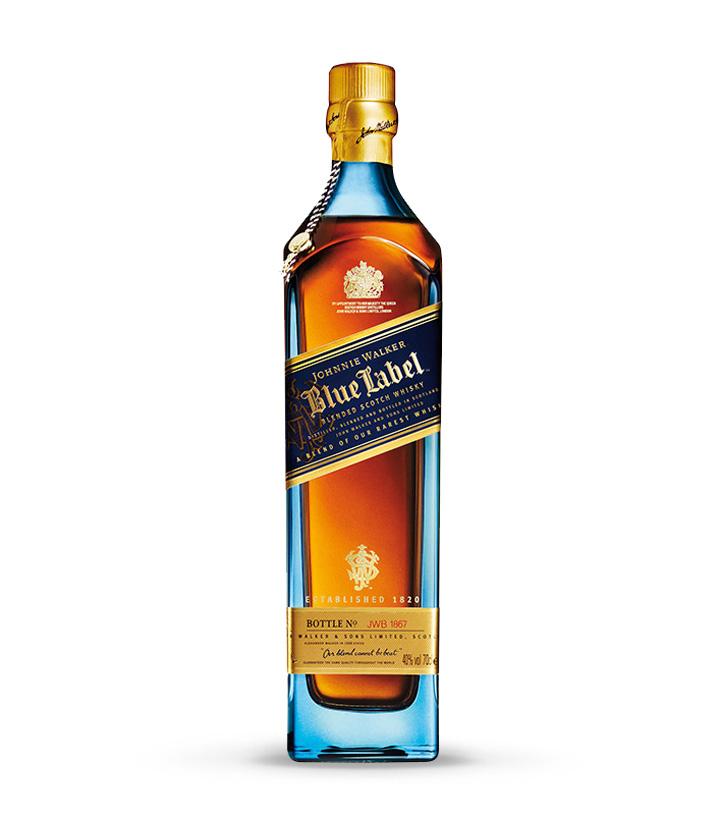 英国尊尼获加蓝牌调配苏格兰威士忌750ml 瓶