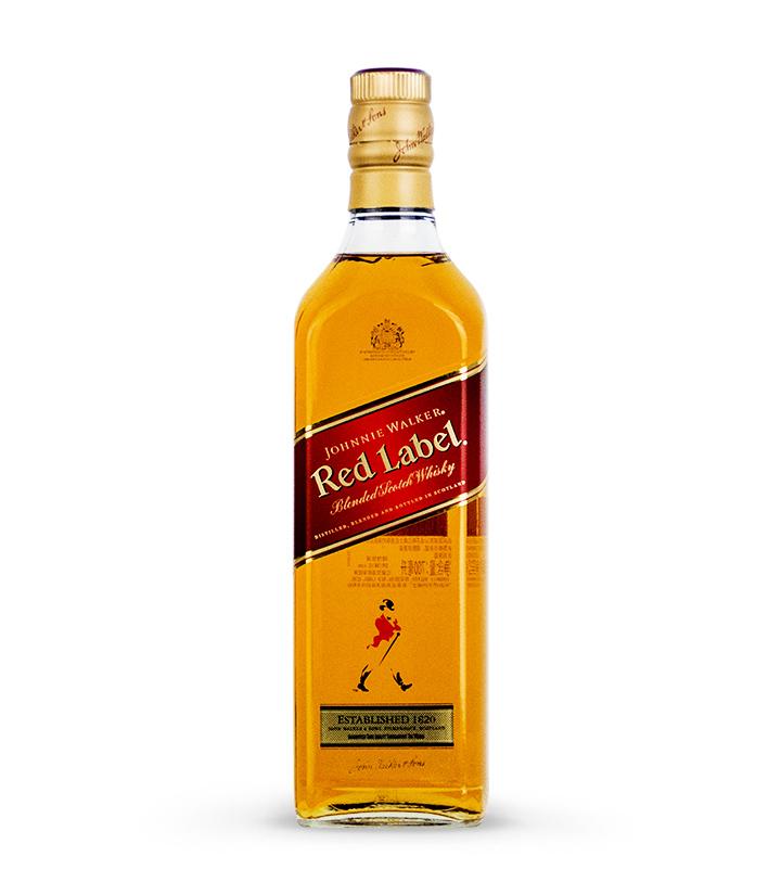 英国尊尼获加红牌调配苏格兰威士忌700ml 瓶