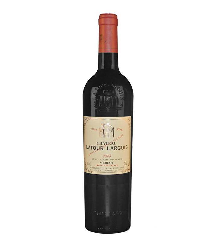 13°法国拉图兰爵吉伦特王者2013波尔多干红葡萄酒750ml 瓶