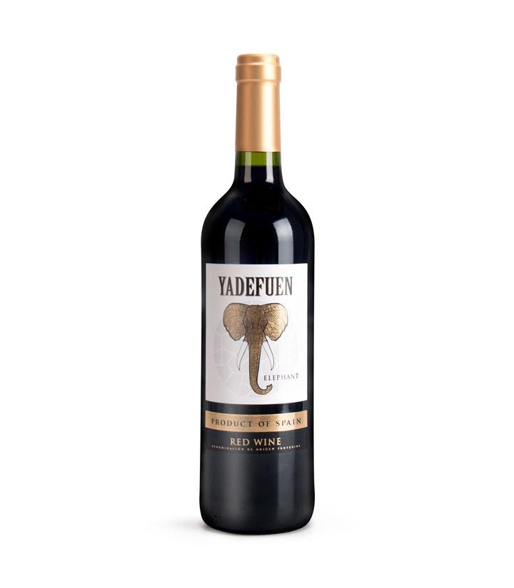 西班牙亚地芬白标干红葡萄酒750ml 件