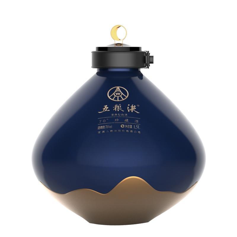 70°五粮液珍藏酒(日月生辉)1.5L 件