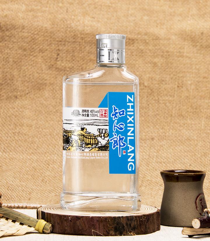 45°知心郎小酒100ml(蓝色)