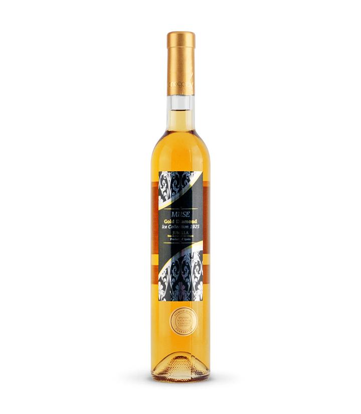 12.5°西班牙缪斯金钻甜白葡萄酒500ml 瓶