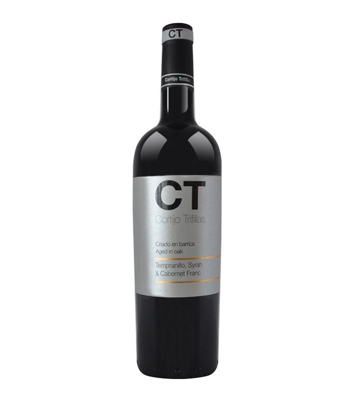 13.5°西班牙德里非亚红葡萄酒金CT 750ml 瓶