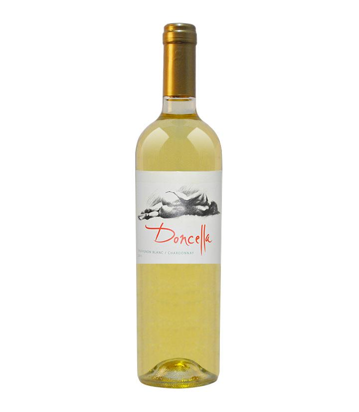 13°智利嬞·希娅优选级2011长相思霞多丽干白葡萄酒750ml 件
