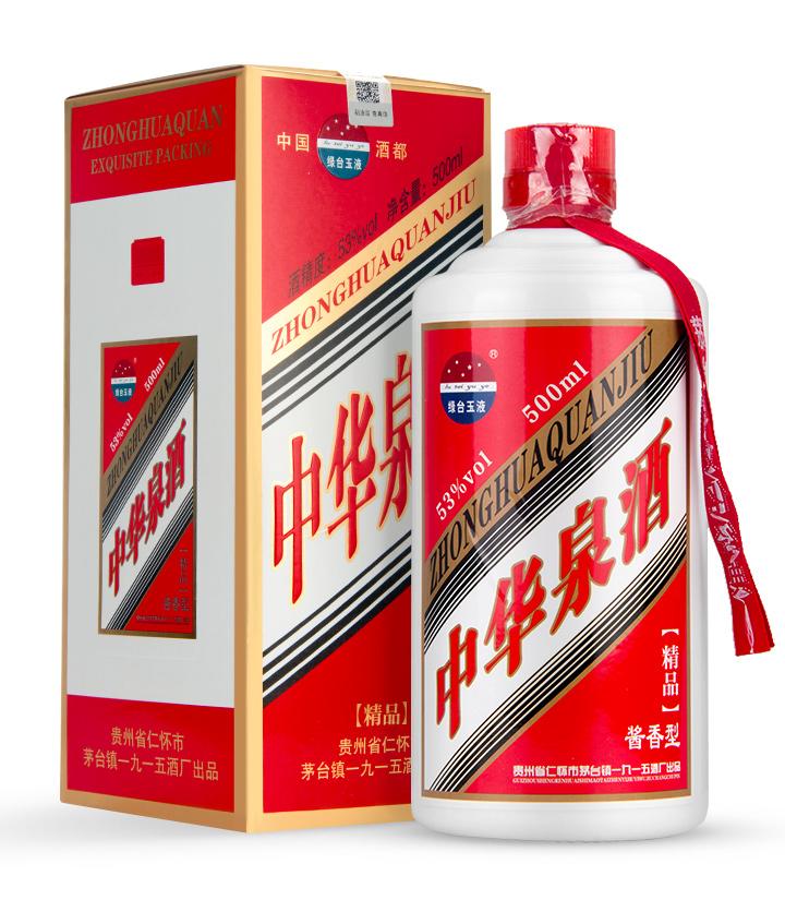 53°中华泉酒500ml 件