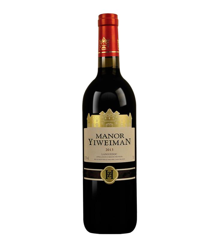 12.5°法国易维蔓干红葡萄酒750ml 瓶