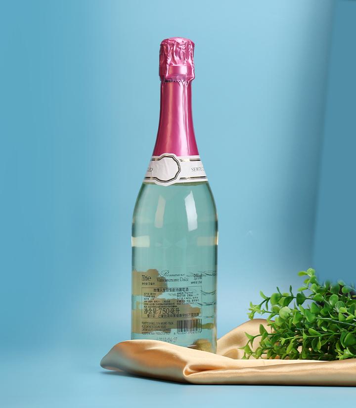 9.5°意大利玫瑰人生甜型起泡葡萄酒750ml