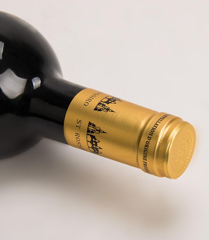 13.5°法国圣罗西罗干红葡萄酒750ml