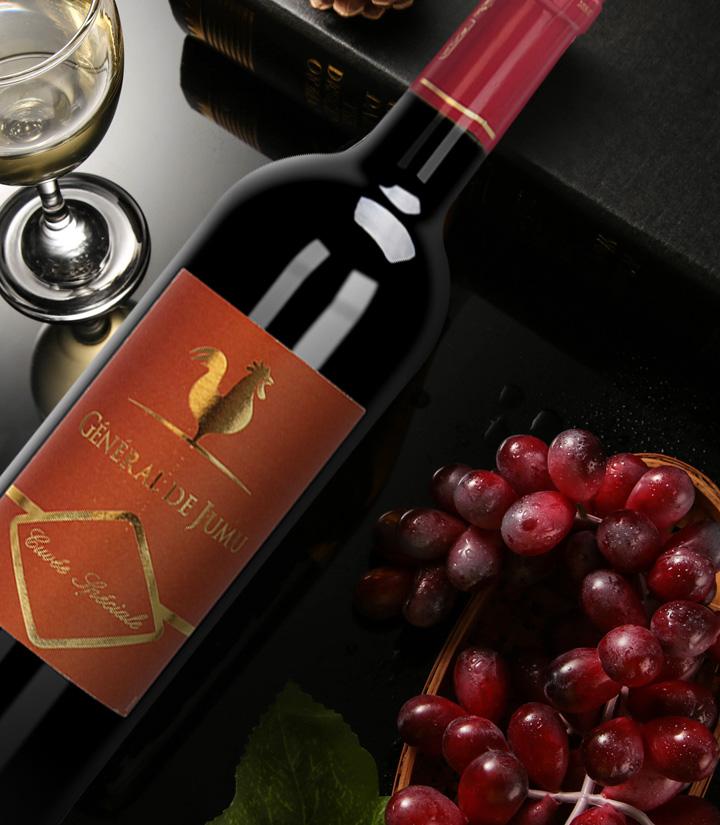 13°法国聚慕上将特酿干红葡萄酒750ml