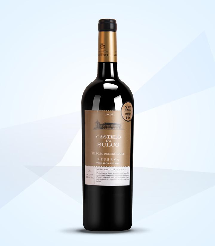 13.5°葡萄牙索克城堡精选珍藏干红葡萄酒750ml