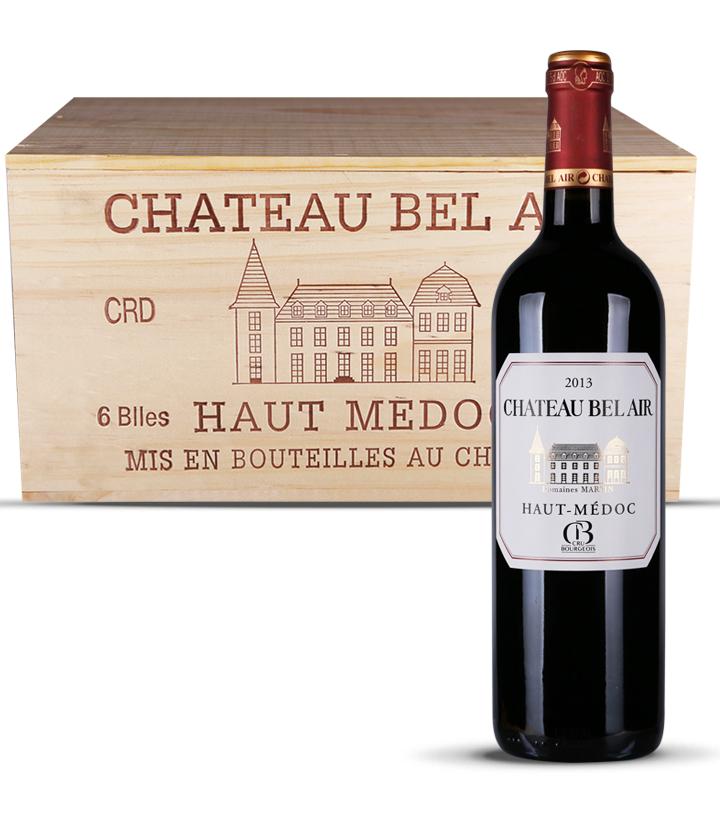13°法国天空城堡红葡萄酒750ml