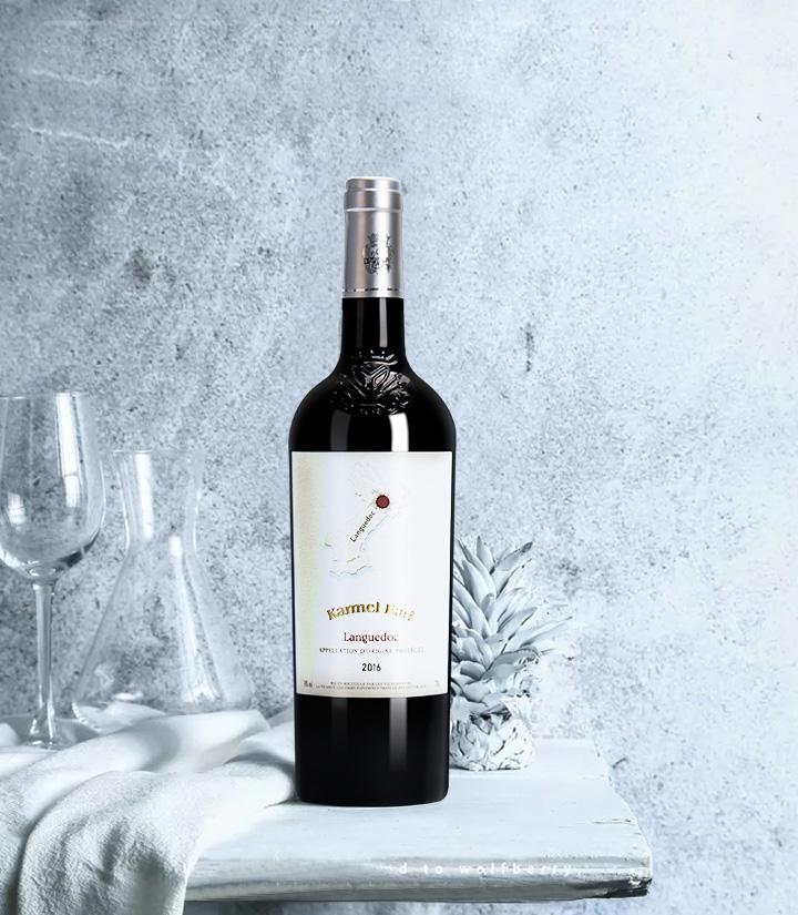14°法国卡梅尔伯爵干红葡萄酒750ml