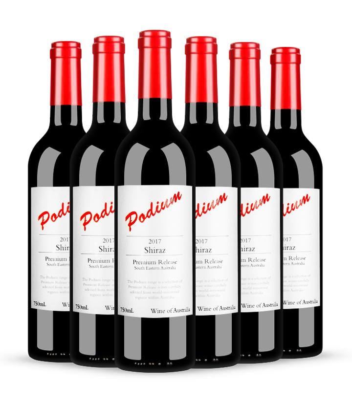 14°澳洲奔鼎西拉干红葡萄酒750ml 件