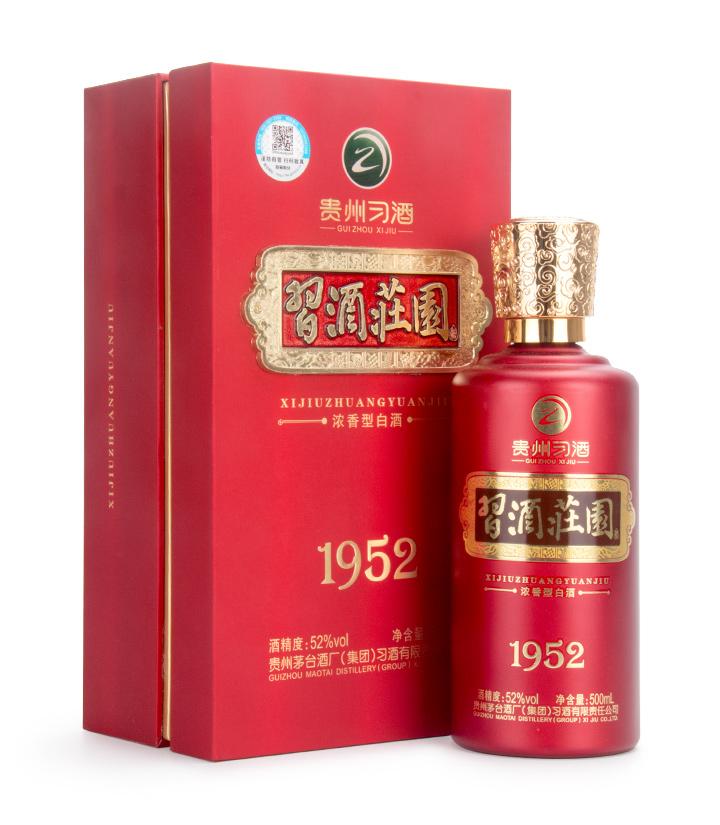 52°贵州习酒习酒庄园1952 500ml 瓶