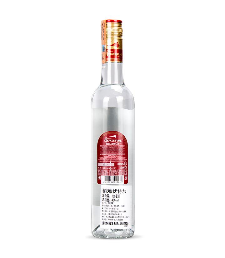 白俄罗斯纳力铂奇锦鸡伏特加500ml 瓶