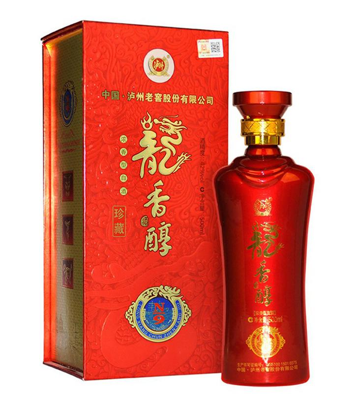 42°泸州老窖龙香醇珍藏N9 500ml