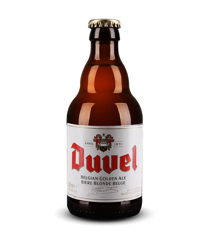 比利时督威啤酒330ml 瓶