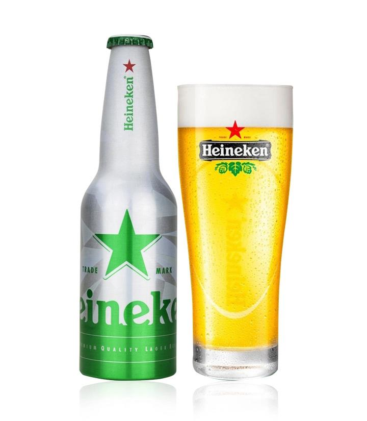 荷兰喜力啤酒(铝瓶)330ml