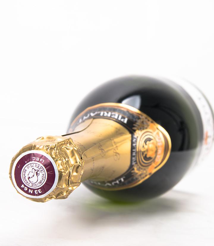 10.5°法国玫瑰半干白起泡葡萄酒750ml 瓶