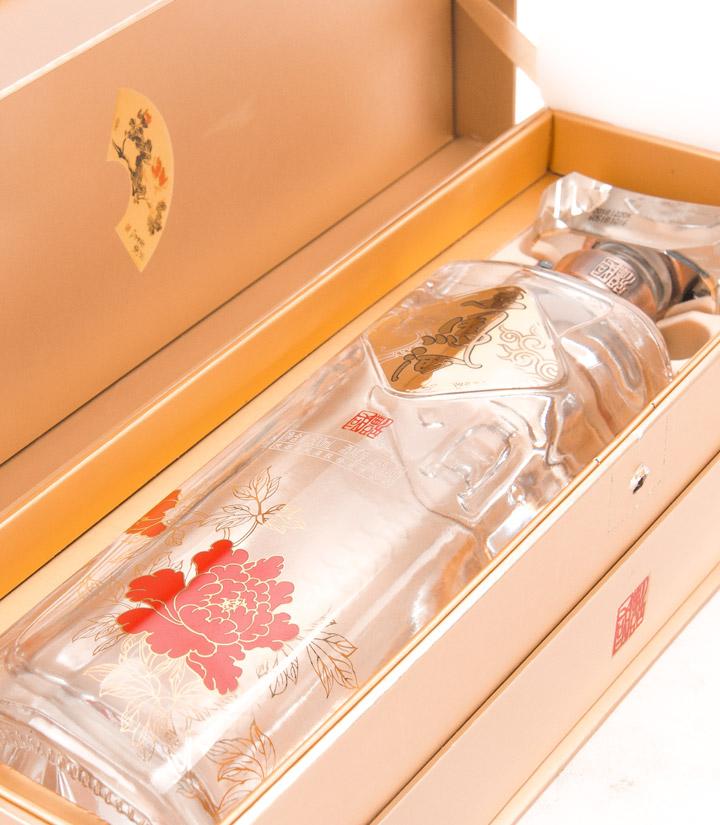 45°西凤酒国艳金装B版500ml 瓶