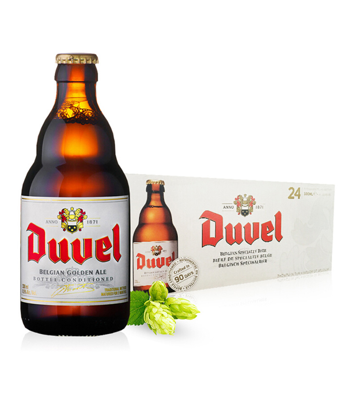 比利时督威啤酒330ml