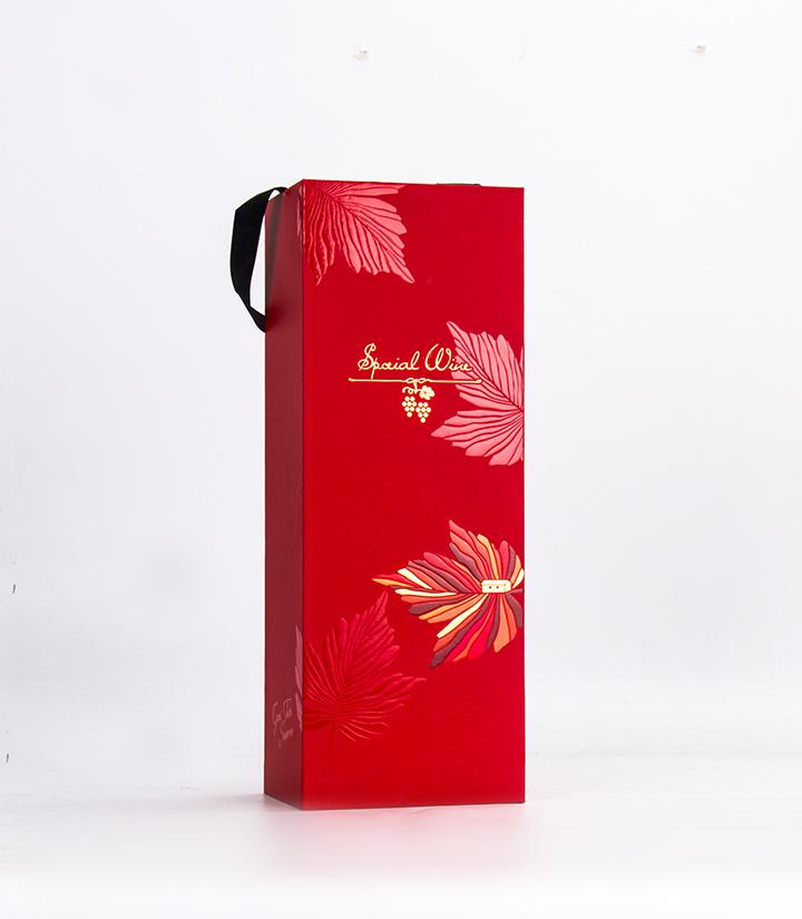 单支红酒卡盒(红叶)