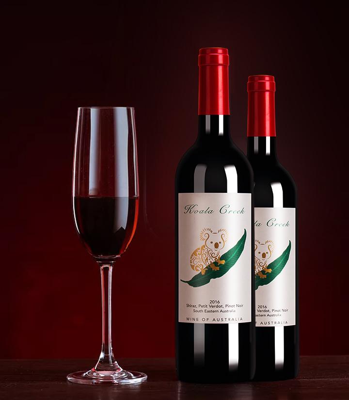 14°澳洲考拉干红葡萄酒750ml