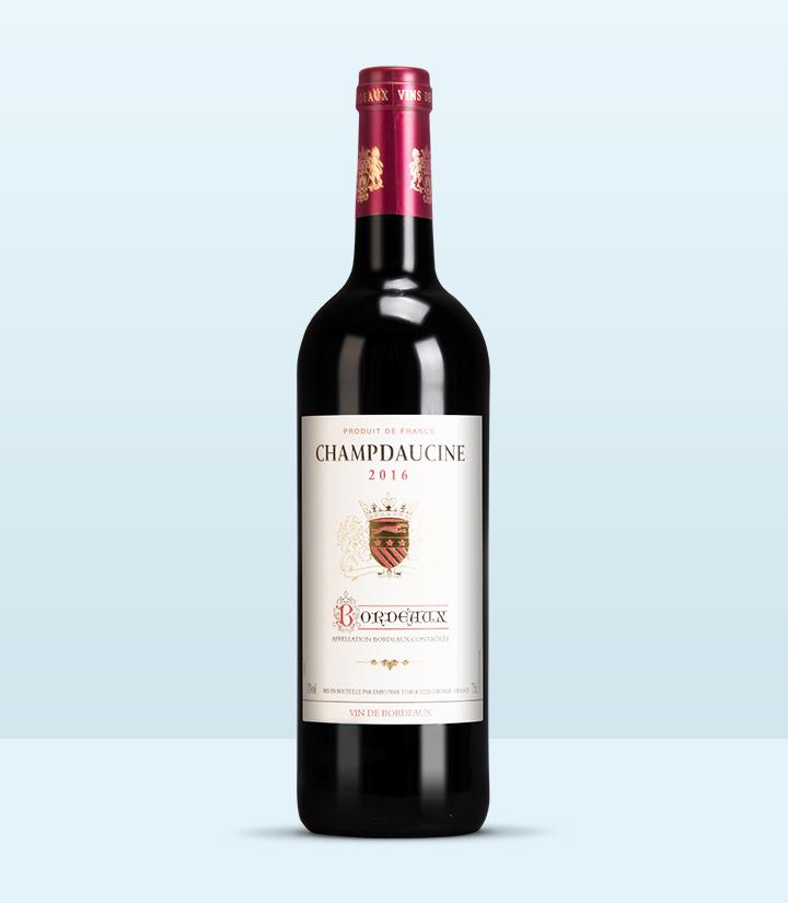 13°法国狮堡干红葡萄酒750ml