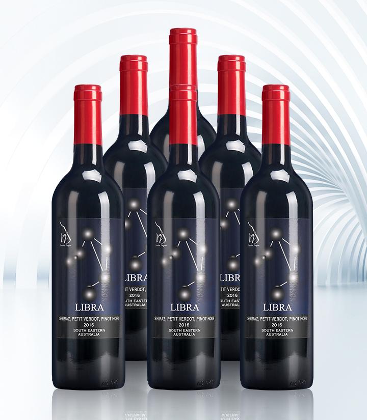 14°澳洲十二星座之天秤座干红葡萄酒750ml
