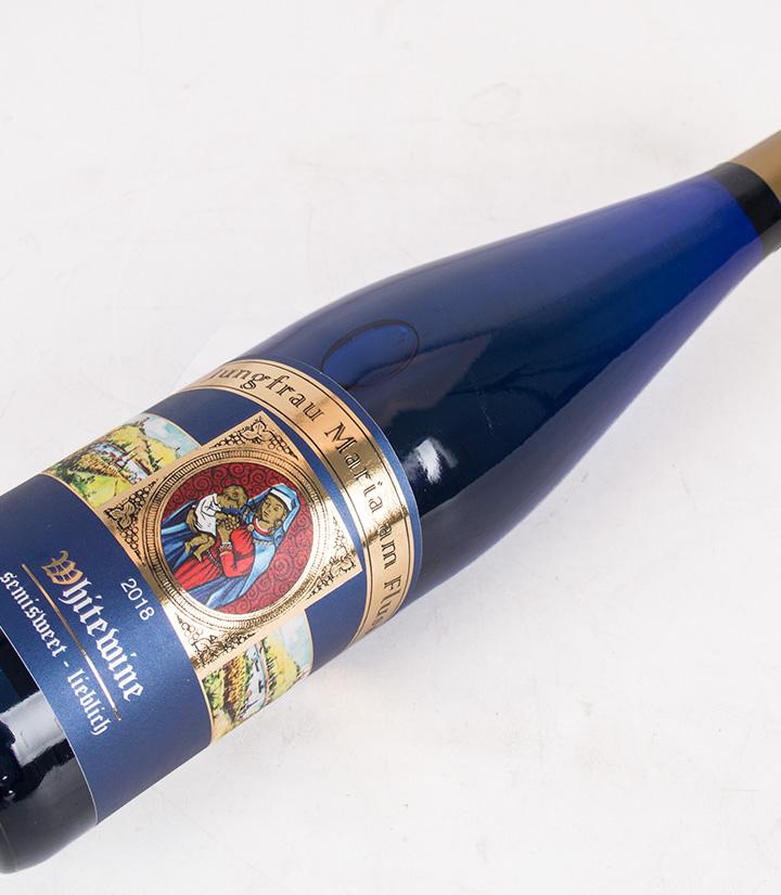 10°德国圣母河畔半甜白葡萄酒750ml 瓶