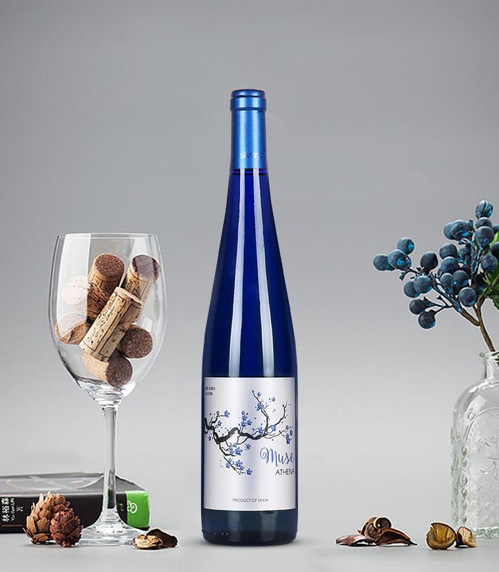 11.5°西班牙冰后半甜白葡萄酒750ml 瓶