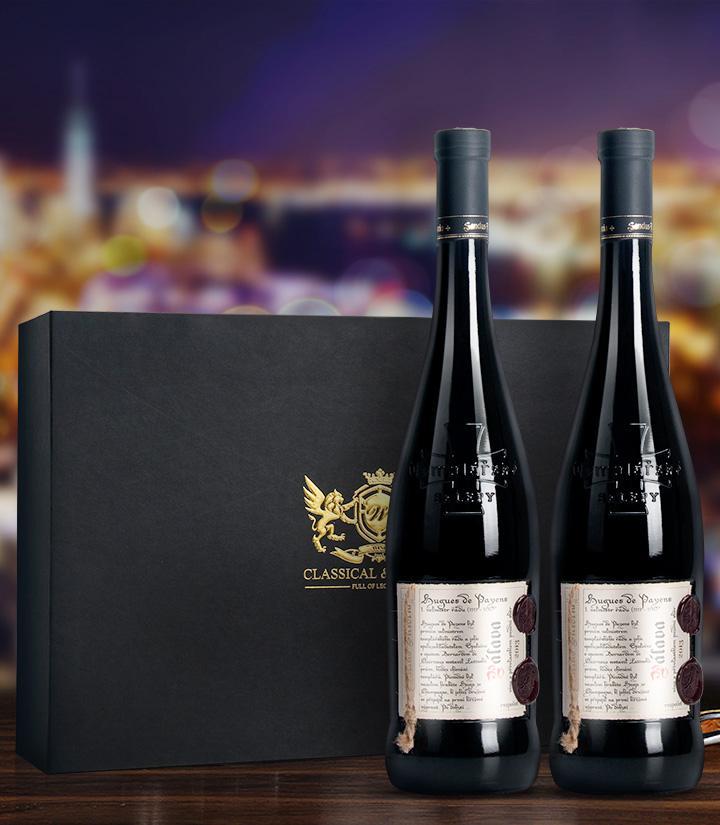 12°捷克圣殿骑士潘多拉甜白葡萄酒(礼盒装)750ml*2 盒