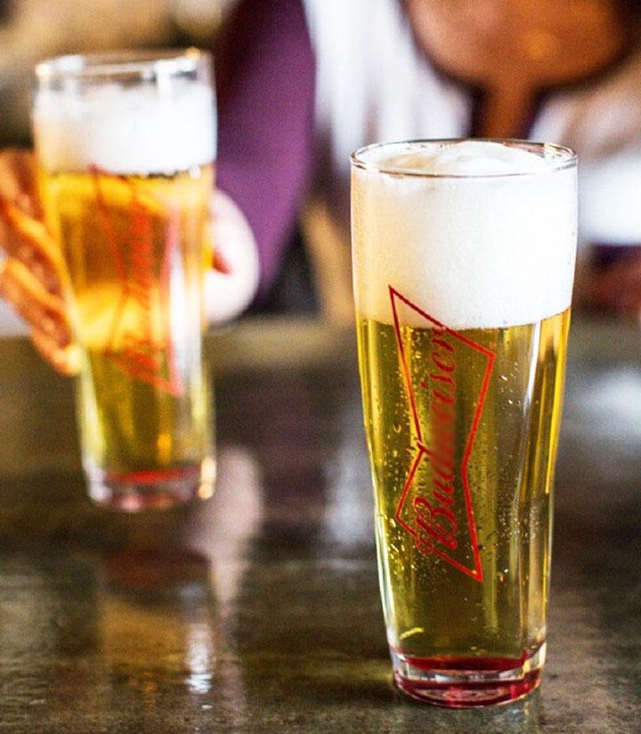 百威啤酒(红铝瓶)473ml