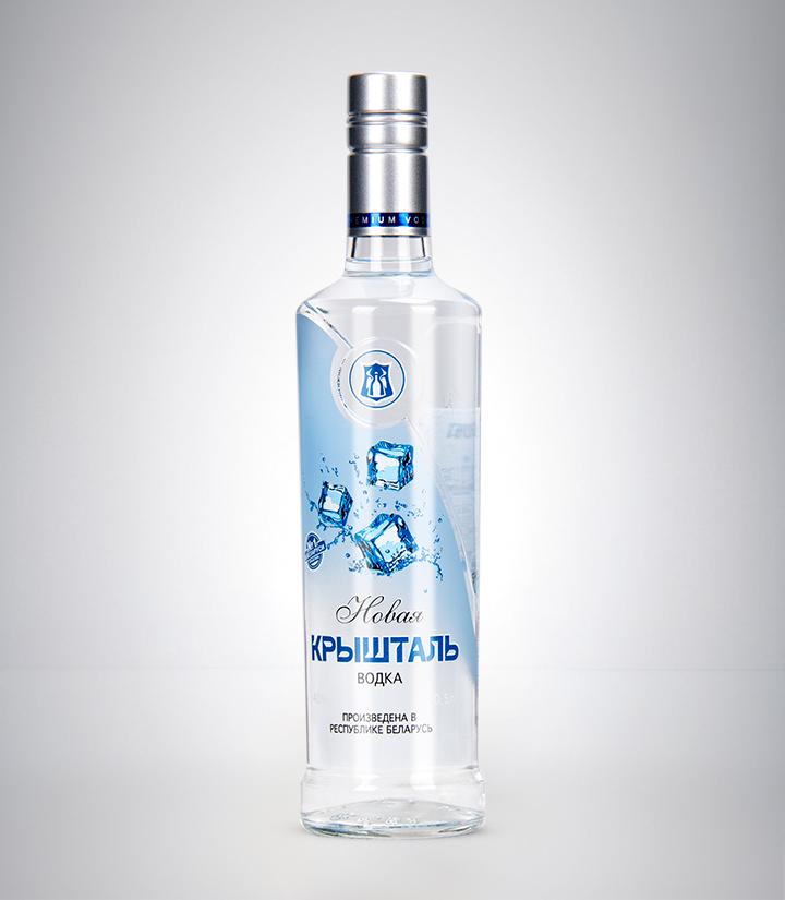 白俄罗斯明斯克水晶冰霜伏特加500ml 瓶