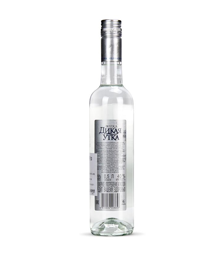 白俄罗斯布雷斯特野鸭银伏特加500ml 瓶