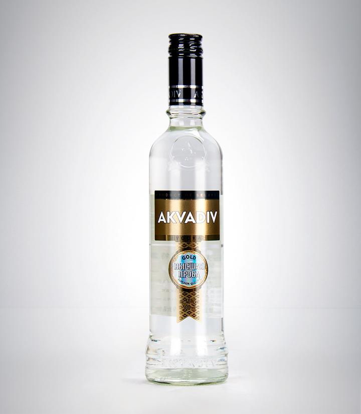 白俄罗斯阿克瓦蒂夫黄金牌伏特加500ml 瓶