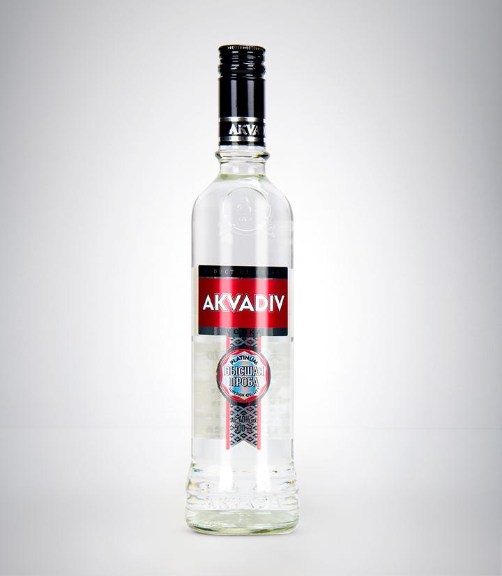 白俄罗斯阿克瓦蒂夫银牌伏特加500ml 瓶