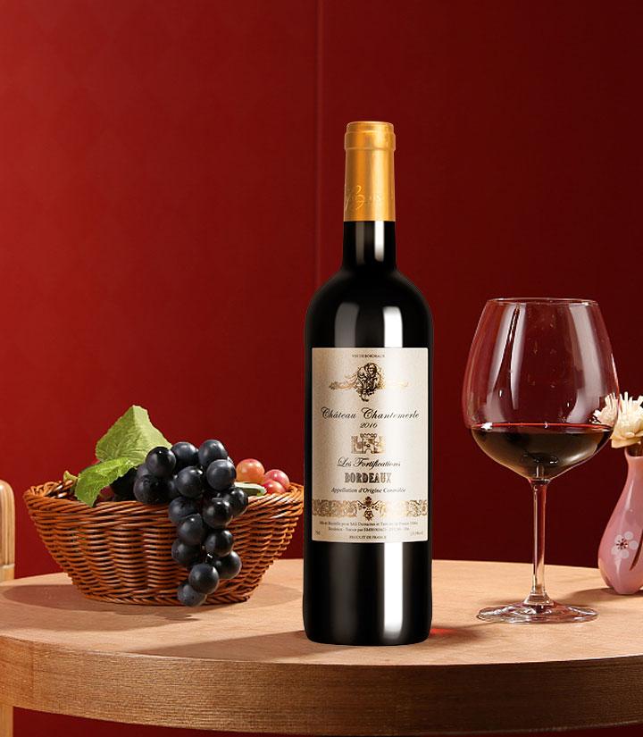 13.5°法国天使要塞酒庄红葡萄酒750ml 瓶